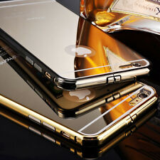 I3C Luxury Aluminum Ultra-thin Mirror Metal Case Cover For iPhone 5S 6/6Plus GA9