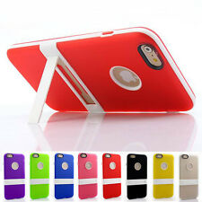 Ultra Thin Silicone Rubber Case Cover Skin With Holder Kickstand for Cell Phones