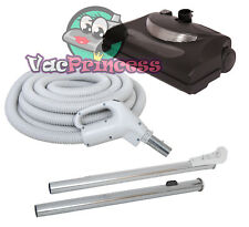 30' Central Vacuum Kit w/Hose, Power Head & Wands Beam Nutone Electrolux Kenmore