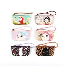 Multipurpose Cosmetic Makeup Case Bag Zipper Pouch [Jetoy] Vanilla candy pouch