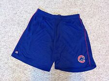 Chicago Cubs Majestic Authentic Mesh Polyester Basketball Athletic Shorts NWT