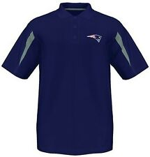 New England Patriots Moist Management Synthetic Mens Polo Shirt Big & Tall Sizes