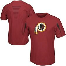 Washington Redskins NFL Big Logo Synthetic Garnet Shirt Mens Big & Tall Sizes