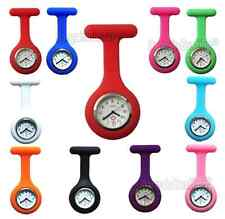 Silicon New Fashion Nurse Watch Brooch Tunic Fob Stainless Steel + Free Delivery