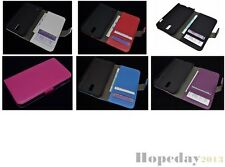 Multi Leather Cover Flip Case HOLDER WALLET For Samsung Galaxy S II LTE I9210