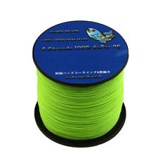 Green 4Plys Dyneema Spectra Super Strong Braid Fishing Line 100-1000M adct AD