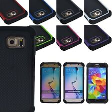 Hard Hybrid Shockproof Case For Samsung Galaxy s5 s6 & edge Armor Rugg
