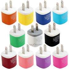 Colorful Home  Ac Wall Charger For Apple iPhone Samsung Galaxy Android Phone
