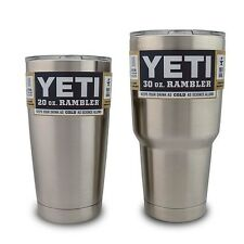 NEW Yeti Rambler Stainless Steel Tumbler WITH LID (20oz or 30oz)