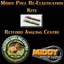Middy Pole FULL Re-Elastication Kits, Elastic, Puller bung, all extras included