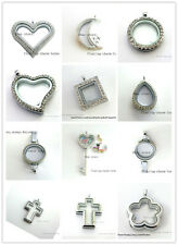 1pcs Copy Stainless steel Floating Locket Charm For Glass locket Free shipping
