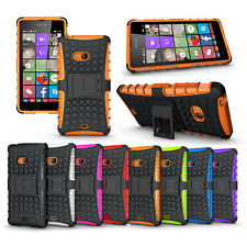 Hybrid Protect Hard & Soft Stand Impact Case Cover For All Nokia Lumia Phone
