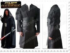 Star Wars Sith Dark Lord Darth Maul Halloween Cosplay Costume Tunic Outfit Suit