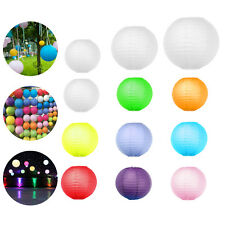 """10 Pcs Round Chinese Paper Lanterns Lamp Wedding Party Home Decoration 8"""" 10"""""""