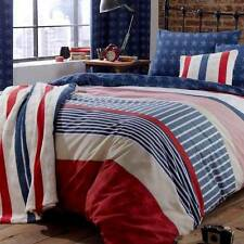 CATHERINE LANSFIELD STARS AND STRIPES BEDDING QUILT SET, DUVET COVER, PILLOW