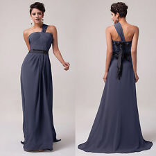 Maxi Formal Evening Bridesmaid Wedding Guest Ball Gown Long Prom Dress Plus Size