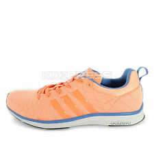 Adidas Adizero Feather 4 W [M29274] Running Coral/Blue-White
