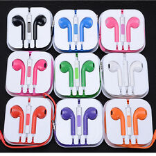 Handsfree Headphone Earphone MIC Remote for  iPhone 4 4s 5 5S 6  iPad Mini w box