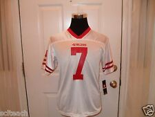 Brand New with Tags San Francisco 49ers Colin Kaepernick White Youth Mesh Jersey