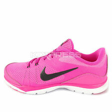 WMNS Nike Flex Trainer 5 [724858-601] Training Pink/Grey-White