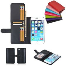 New Card Holder Flip Wallet Leather Case Cover For Apple iPhone 6S