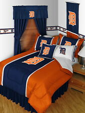 Detroit Tigers Bed in a Bag Twin Full Queen King Size Comforter Set
