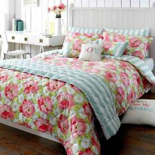 Matilda Coral Superking Duvet Cover by Kirstie Allsopp ... Free Delivery