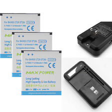 Li-ion Polymer Internal Battery + Charger For Sony Ericsson Xperia BA900 LT29