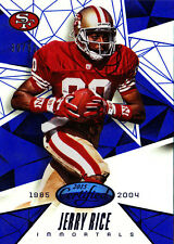 2015 Panini Certified Jerry Rice Mirror Blue SP #30/50