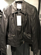 ZARA FAUX LEATHER BIKER JACKET XS-XL Ref. 5070/047