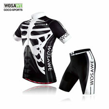 Cycling Bike Summer Jersey Gel Padded Shorts Clothing Bicycle Sports Set Mens
