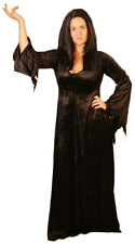 HALLOWEEN-Horror-Scary-Creepy-Witch-MORTICIA costume All Sizes Plus Sizes