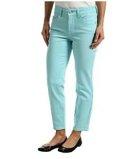 NEW NYDJ Not Your Daughters Jeans pants ALISHA Chevy blue colored Fitted ANKLE