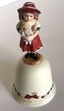 """Jan Hagara """"Marie"""" 1-Year Edition Bell 1988 Signed Numbered #473 Christmas Bell"""