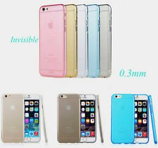 Ultra Thin Slim Transparent Crystal Clear Soft TPU Case Cover For Apple iPhone