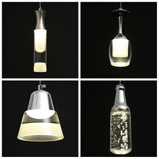 Modern LED SMD Crystal Ceiling Light Pendant Lamp Lighting Fixture Chandelier