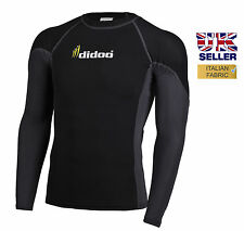 Mens new compression base layer tops under layers long sleeve shirts all seasons