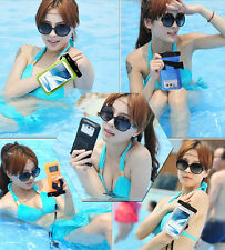 """Transparent Waterproof Underwater Pouch Bag Dry Case Cover For Mobile Phone 5.7"""""""