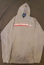 Gray Arkansas Razorbacks Hoodie --- New w/ Tags