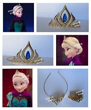 Frozen Queen Elsa Crown Disney Costume Party Birthday supply Tiara toy dress up
