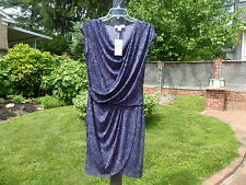 NEW $ 120  Michael Kors Draped Paisley  Dress S
