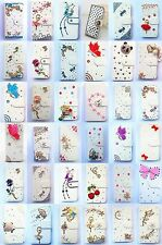 Bling Diamond Wallet Card Holder PU Leather flip Case Cover For HTC Desire 816