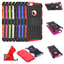 Dual Layer Hybrid Protective Grenade Grip Rugged Case Kickstand Cover For Apple