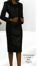 2pc Dress & Jacket. Parties, Church Suit, Wedding,Mother of the bride groom wear