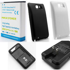 3030mAh 5200mAh Extended Li-ion Phone Battery For Galaxy Note 1 N7000 I9220 i717