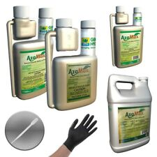 GENERAL HYDROPONICS AZAMAX HYDROPONIC PESTICIDE PEST CONTROL + PIPETTE GLOVES
