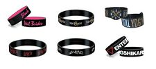 # OF MICE & MEN -  SLAYER - OFFICIAL LOGO RUBBER WRISTBAND