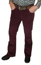 Mens New Bootcut Cords retro indie vtg flares Jeans Corduroy trousers 60s  Mod