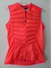 Nike Women's Aeroloft 800 Fill Down Running Vest Hyper Punch 616257 646