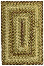 Country Walk Ultra Durable Braided Rectangular Rug by Homespice Decor